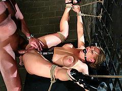 Couples Pictures -  Submissive Venus is punished and sexually exposed.