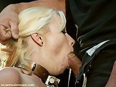 Submission Pictures -  Hear the cries of Seven as she is bound and fucked in the ass.