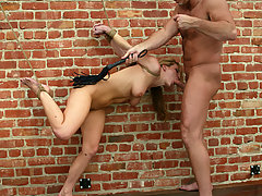 Couples Pictures -  Barbara and Harmony are dominated and forced to fuck.