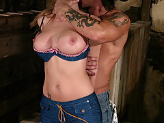 Couples Pictures -  BDSM submissive Jenni is dominated and fucked hard