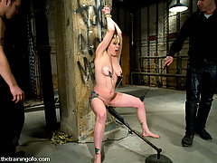 Punishment Pictures -  Adrianna Nicole trained to fuck like a slave