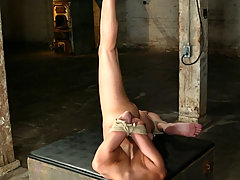 Bondage Pictures -  Amber Rayne gets roped and her ass gets hooked