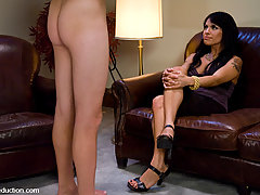 Transgender Pictures -  Latina Ts Foxxy seduces straight guy, fucks his ass and mouth.