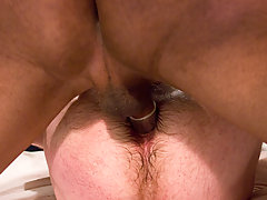 Transgender Pictures -  Sexy Jade drill Sergeant with a big black cock ass fucking