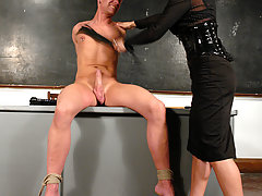 Transgender Pictures -  Cute Ts Ariel Everitts Dominates and fucks her man slave