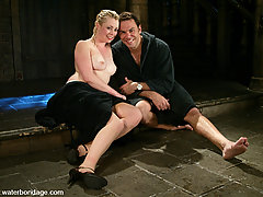 Water Bondage Pictures -  Steven and Lorelei have hot, wet bondage and sex!