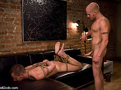 Gay Pictures -  Luke Riley ties up and fucks Chad Manning.