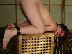 Water Bondage Pictures -  Ginger loves bondage, pain, and being fucked by wet machines
