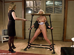 Lesbian Pictures -  Lesbian BDSM and strapon sex.