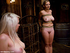 Punishment Pictures -  Lorelei Lee and Sara Scott in a live hardcore bondage shoot