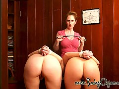 Slaves Pictures -  Office girls spanked and licked