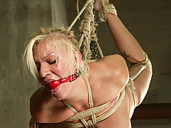 Bondage Pictures -  Xena turns a bondage game into something more sinister.