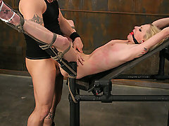 Submission Pictures -  Bound slave ass fucked by Master!