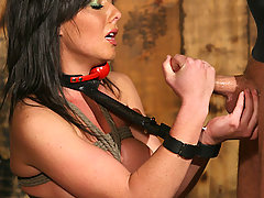 Slaves Pictures -  Penny gets bound and Fucked by Alex Sanders