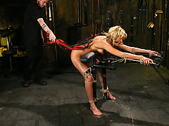 Forced Orgasms Pictures -  Blonde, Bound and pushed to orgasm!