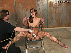 Submission Pictures -  Extreme enema bondage!