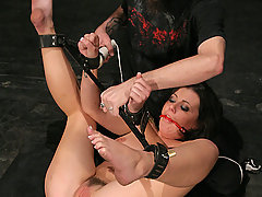 Forced Orgasms Pictures -  Bound, punished and cumming HARD!