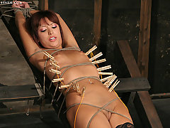 BDSM Pictures -  Dominated until she CUMS!