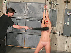 BDSM Pictures -  Hot MILF in heavy bondage!