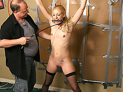 Forced Orgasms Pictures -  Morgan is held captive and used.