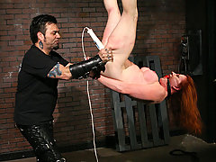 Slaves Pictures -  Pain slut in extreme bondage!