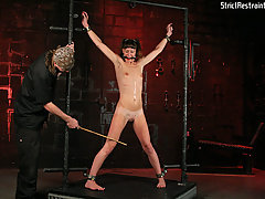 BDSM Pictures -  Bondage whore takes the pain!