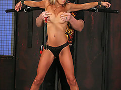 Torture Pictures -  Hot MILF in pain bondage!