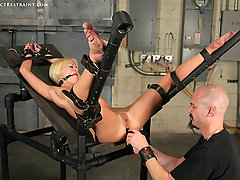 Extreme Pictures -  Rough enema bondage!