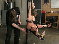 Pain Pictures -  Dirty squirter punished!