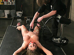 Torture Pictures -  Dirty squirter punished!