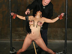 Pain Pictures -  Big boobed Jessica Bangkok bondage slave !