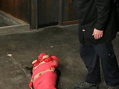 Extreme Pictures -  Big boobed Jessica Bangkok bondage slave !