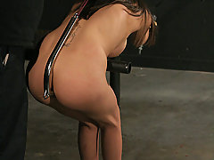 Extreme Pictures -  Innocent slave in hardcore bondage!