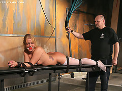 Pain Pictures -  Rough bondage!