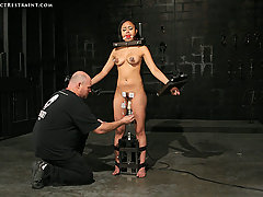 Pain Pictures -  Restrained, vibed and cumming!