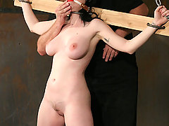 Pain Pictures -  Water and Electric bondage