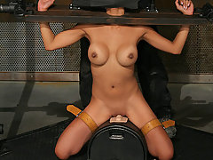 Pain Pictures -  Kina is restrained and cumming