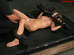 Torture Pictures -  Lexi gets her ass whipped.
