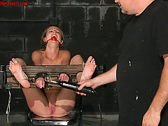 Slaves Pictures -  Hailey appears to be the perfect slave.