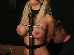 Pain Pictures -  Shyla is bulldozed into orgasmic oblivion.