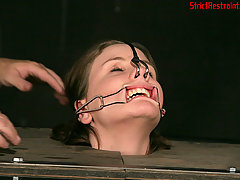 Extreme Pictures -  Michelle is strapped and slapped