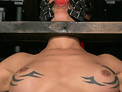 Pain Pictures -  Shackled and mistreated.