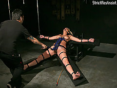 Extreme Pictures -  Delilah submits to Master Liam.