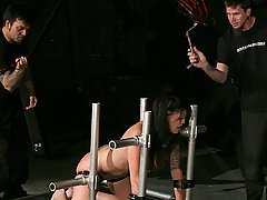 Slaves Pictures -  Krissy is taught her lesson by Master Liam.