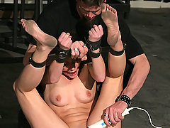 Torture Pictures -  Ariel X gets chained, cuffed, and dominated.