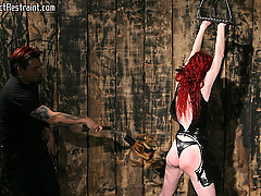 Torture Pictures -  Arachnia meets Liams Whip...