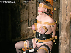 Pain Pictures -  Alisha is one tough slave...