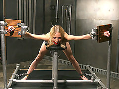 Extreme Pictures -  Little Faye makes a good slave...