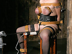 Torture Pictures -  Alisha is one tough slave...