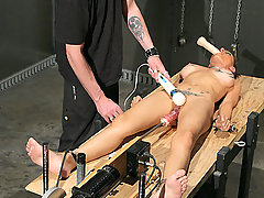 Torture Pictures -  The crew gets to play with helpless Skyler.